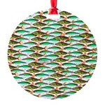School of Tropical Amazon Fish 1 Ornament
