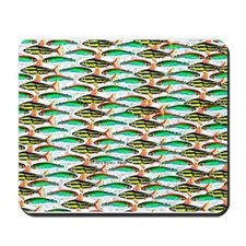 School of Tropical Amazon Fish 1 Mousepad