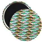 School of Tropical Amazon Fish 1 Magnet
