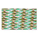 School of Tropical Amazon Fish 1 Sticker