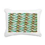 School of Tropical Amazon Fish 1 Rectangular Canva