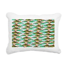 School of Tropical Amazon Fish 1 Rectangular Canva