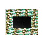 School of Tropical Amazon Fish 1 Picture Frame