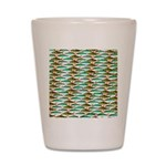 School of Tropical Amazon Fish 1 Shot Glass
