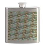 School of Tropical Amazon Fish 1 Flask