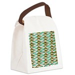 School of Tropical Amazon Fish 1 Canvas Lunch Bag