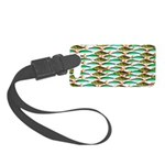 School of Tropical Amazon Fish 1 Luggage Tag