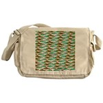 School of Tropical Amazon Fish 1 Messenger Bag