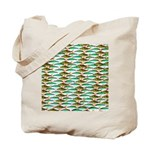 School of Tropical Amazon Fish 1 Tote Bag