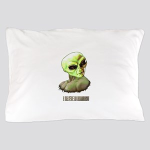 ALIEN FACE ILLUSTRATION ART Pillow Case