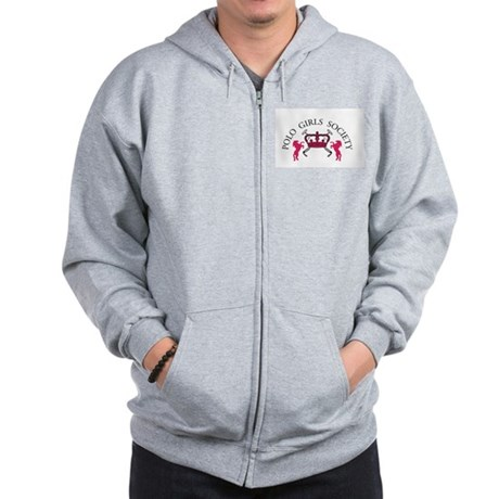 Polo Girls Official Logo Zip Hoodie