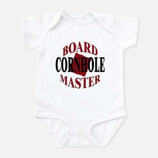 Cornhole Board Master Infant Bodysuit