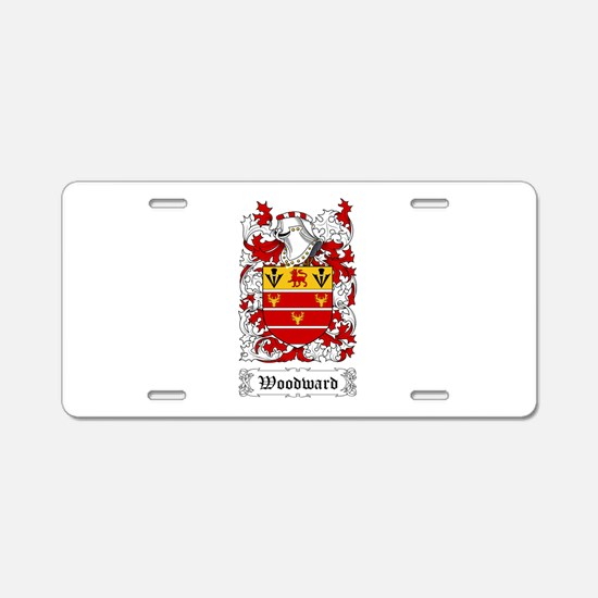 Woodward Aluminum License Plate