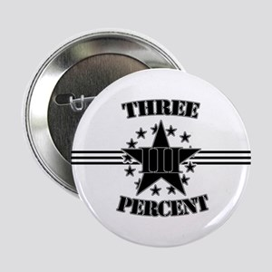 "Three Percent Stars and Stripes 2.25"" Button"