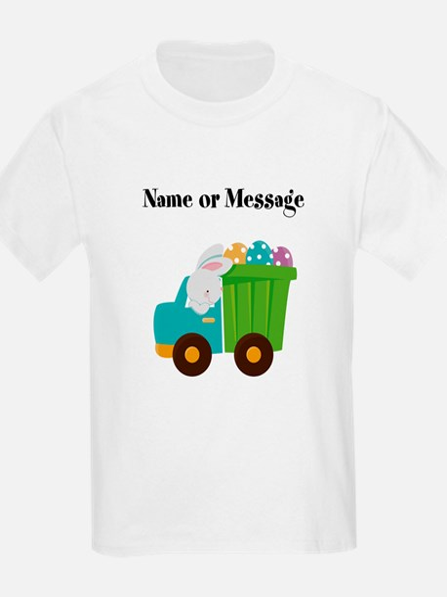 Easter Bunny Dump Truck T-Shirt