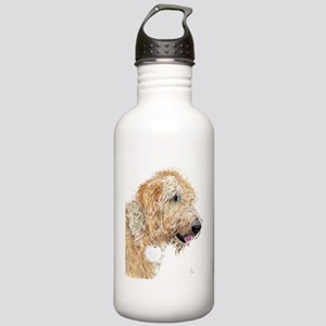 Cream Labradoodle 4 Stainless Water Bottle 1.0L