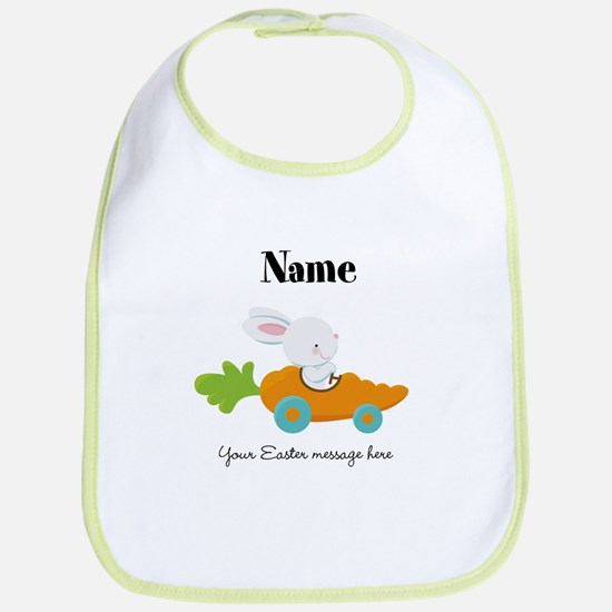 Personalized Easter Bunny Car Bib