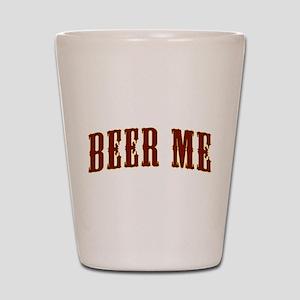 beer-me Shot Glass