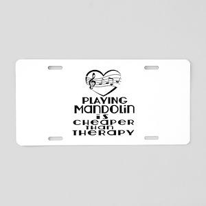 Mandolin Is Cheaper Than Th Aluminum License Plate