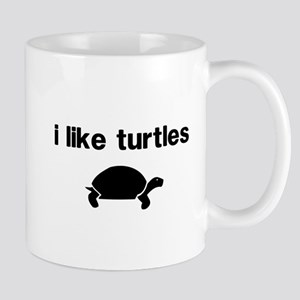 I Like Turtles Mug