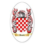 Basek Sticker (Oval 50 pk)