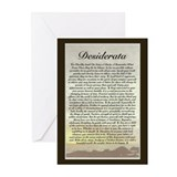 Desiderata Greeting Cards (20 Pack)