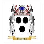 Baseggio Square Car Magnet 3