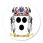 Baseggio Round Car Magnet