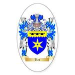 Bas Sticker (Oval 50 pk)