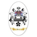 Barz Sticker (Oval 50 pk)