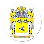 Barwick Round Car Magnet