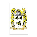 Barusso 35x21 Wall Decal