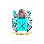Barty Sticker (Rectangle 50 pk)