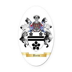 Barts Oval Car Magnet