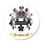 Barts Round Car Magnet
