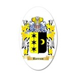 Bartrum 35x21 Oval Wall Decal