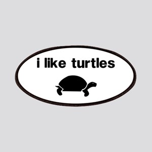 I Like Turtles Patches