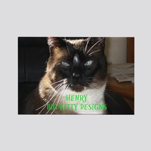 Henry the big kitty! (Green print)