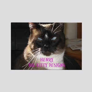Henry the big kitty! (Pink print)