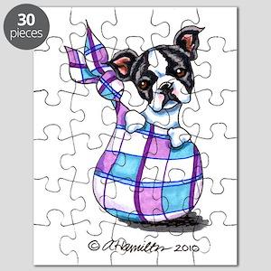 Boston Sack Puppy Puzzle