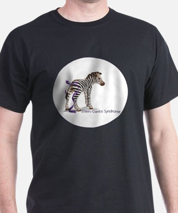 Zebra with Ribbon on Tail T-Shirt