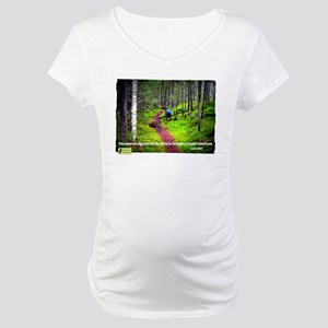 Forest Wilderness Maternity T-Shirt