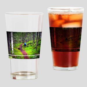 Forest Wilderness Drinking Glass