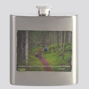 Forest Wilderness Flask