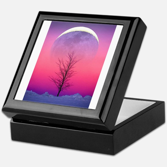 Pink Eclipse Keepsake Box