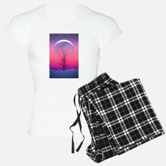 Pink Eclipse Pajamas