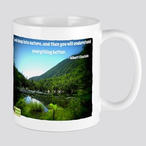 Look Deep into Nature Mug