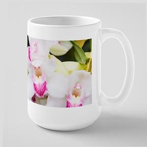 Beautiful White Orchids Mug