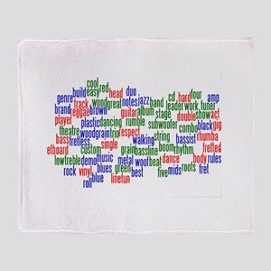 bass related words wordle red green blue Throw Bla