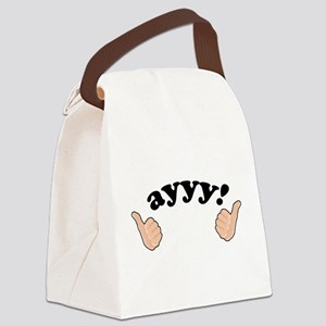 'Ayyy!' Fonzie Canvas Lunch Bag